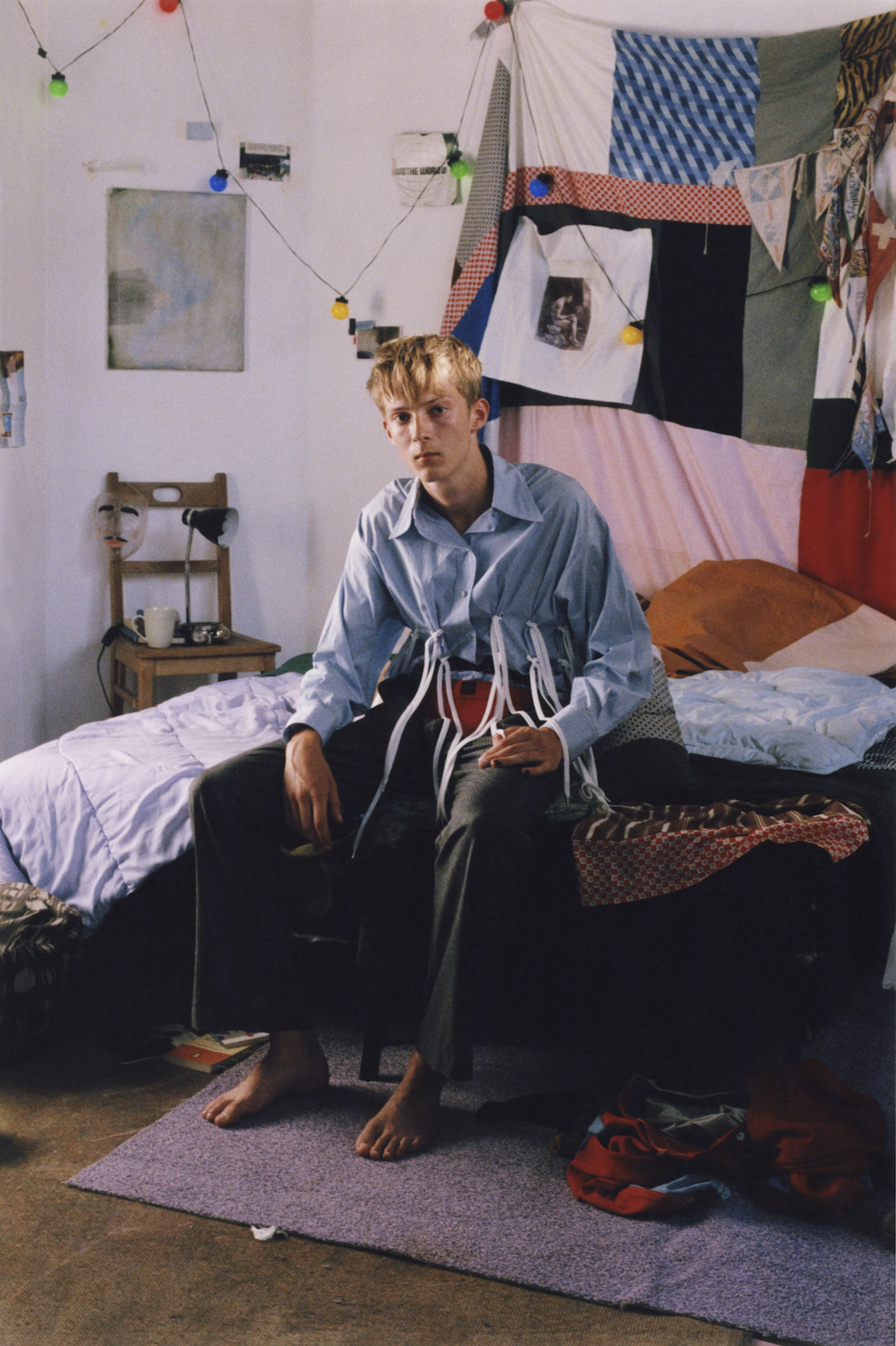 PIETER ELIËNS Johnny Magazine 'Reclining youth'